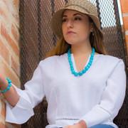 Sleeping Beauty Turquoise Necklace -JSBNa