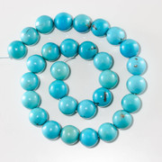 Sleeping Beauty Turquoise-14mm Rounds SBR14e