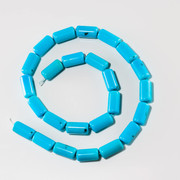 Sleeping Beauty Barrel Beads