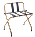 Satin Gold Finish Luggage Rack with Backrest - 4 pack - CLOSEOUT