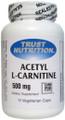 Trust Nutrition Acetyl L-Carnitine 500mg 60 Veg Caps