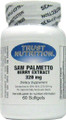 Trust Nutrition Saw Palmetto Extract 60 Capsules