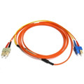 SC to SC Mode Conditioning 62.5um 3 Meter Fiber Cable