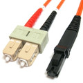 CAB-MTRJ-SC-MM-1M - MTRJ to SC Duplex Multimode 1 Meter Fiber Cable
