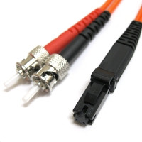 CAB-MTRJ-ST-MM-3M - MTRJ to ST Duplex Multimode 3 Meter Fiber Cable