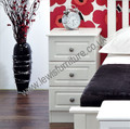 Welcome Furniture - Pembroke - 3 Drawer Bedside Chest - Choice of 4 finishes -