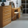 Welcome Furniture - Sherwood - Choice of Walnut, Maple or Oak Finish - 4 Drawer Deep Chest