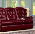 Sherborne Upholstery Lynton 3 Seater Leather