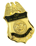 CBP Office of Air and Marine Agent's Wife Mini Badge Lapel Pin
