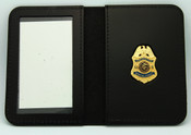 Immigration and Naturalization Service Special Agent Mini Badge ID Wallet