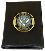 Customs and Border Protection Badge and Credential Case with an OFO Medallion