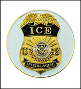Immigration and Customs Enforcement Golf Ball Marker