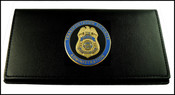 Transportation Security Administration Leather Checkbook Cover