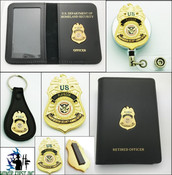 Transportation Security Administration Playbook Officer Mini Badge Merchandise