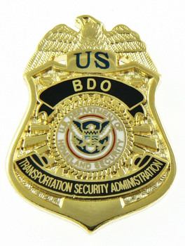 transportation security administration bdo officer mini badge lapel pin - Transportation Security Officer