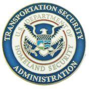 Transportation and Security Administration Mini Uniform Patch Lapel Pin