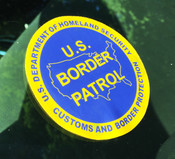 U.S. Border Patrol Vinyl Window Decal