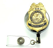 Fish and Wildlife Service - Inspector Mini Badge ID Reel