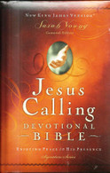 NKJV Jesus Calling Devotional Bible: Enjoying Peace in His Presence (Padded, Hardcover)