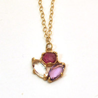 Mixed Pink Necklace