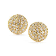 Lauren Joy Medium YG Studs