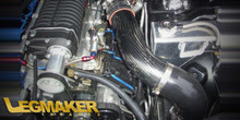 LegMaker Carbon Fiber True Cold Air Intake 5.7 6.1 With Whipple Supercharger