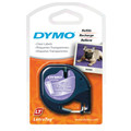 Dymo LetraTag Tape SD12267 12MM X 4M Clear Plastic