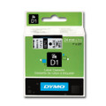Dymo LabelManager D1 Tape 53713 24MM X 7M Black on White