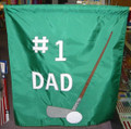 #1 Dad with Golf Club