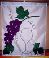 Grapes with Wine Glass TFS