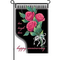 Happy Anniversary Garden Flag