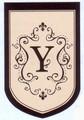 "Monogram ""Y"" Garden Flag"