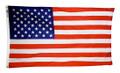 United States Printed Nylon Flag By Annin