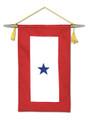 "8"" X 15"" Star Service Banner"
