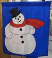 Snowman Mini Garden Flag