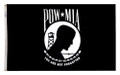 POW-MIA Single Sided Flag