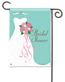 Bridal Shower Garden Flag