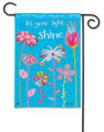 Let Your Light Shine Garden Flag