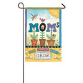 Mom's Bloom Garden Flag