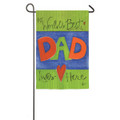 World's Best Dad Garden Flag