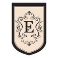 """Monogram """"E"""""""