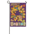 Autumn Wreath Garden Flag