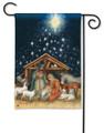 Holy Christmas Night Garden Flag