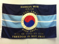 Korean War 50th Anniversary Flag