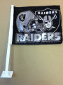 Raiders Car Flag