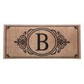 "Monogram ""B"" Insert Mat"