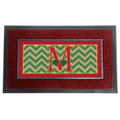 "Holly Monogram ""M"" Insert Mat"