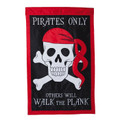 Walk the Plank Garden Flag