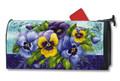Pretty Pansies Mailwrap