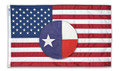 United States Casket Cotton Flag by Annin